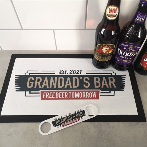 Personalised Bar Runner - Made For You Gifts