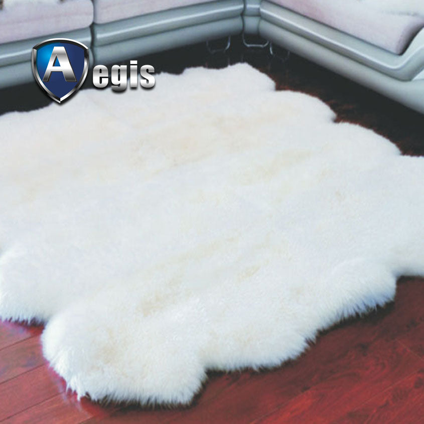 SHEEPSKING EIGHT PIECE RUG
