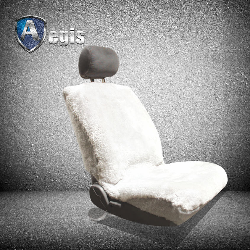 SUPER FIT LOWBACK SHEEPSKIN SEAT COVER