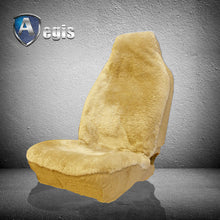 Load image into Gallery viewer, SUPER FIT HIGHBACK SHEEPSKIN SEAT COVER