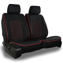 Load image into Gallery viewer, AEGIS COVER SEMI CUSTOM LEATHERETTE SUEDE/DIAMOND SEAT COVER