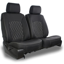 Load image into Gallery viewer, AEGIS COVER SEMI CUSTOM LEATHERETTE/DIAMOND SEAT COVER