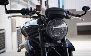 Brogue Street Triple Headlight Conversion