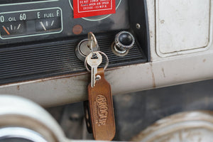 Handcrafted Brogue Key Chain