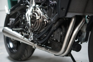 "MT-07 (FZ-07) ""SpitFire"" Custom Exhaust System"