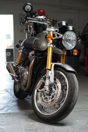 Triumph - Thruxton R Machined Fender Brackets