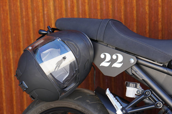 XSR900 Helmet Hook (lock)