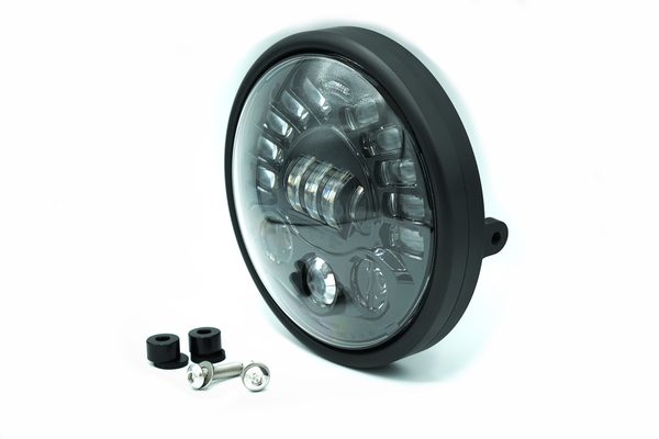 "Brogue Collective Naked 7"" LED Headlight - Cafe Racer"