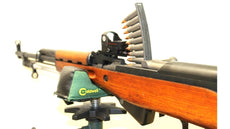 SKS Low-Profile NDT Red Dot Mount Gen 3 with back-up sight