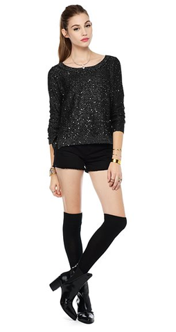 Cadler Sequin Sweater