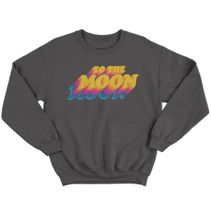 To The Moon Crewneck
