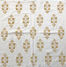 Load image into Gallery viewer, 30x56 inch Flourish Design Hand Block Printed Fabric