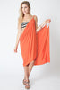 Convertible Beach Wrap Dress in Mango