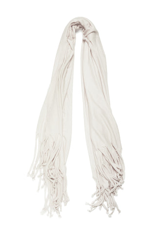 Blanket Scarf in White