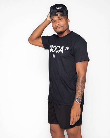 Black ''SOCA'' T-shirt<br><h2><strong>30 Entries</strong></h2>