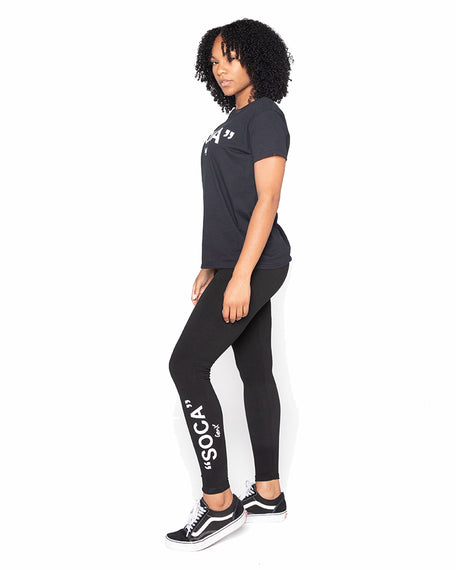 Black ''SOCA'' Leggings<br><h2><strong>30 Entries</strong></h2>