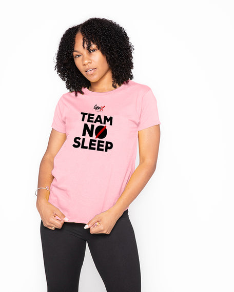 Light Pink Team No Sleep Tees <br><h2><strong>30 Entries</strong></h2>