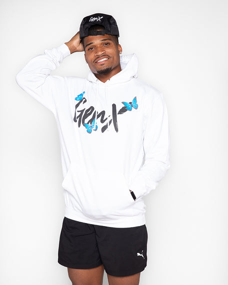 White Butterfly Hoodie<br><h2><strong>50 Entries</strong></h2>