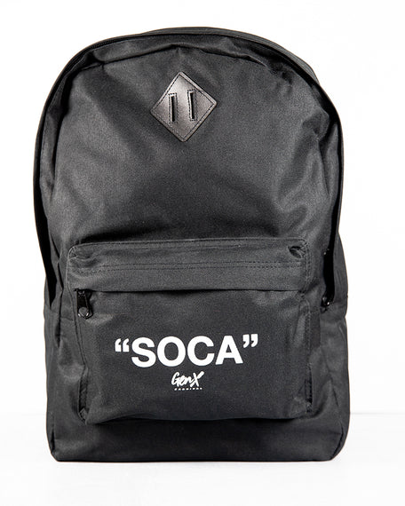 Black ''SOCA'' Back Pack<br><h2><strong>30 Entries</strong></h2>