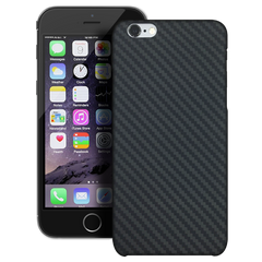 HoverKoat for iPhone 6S/6 Plus Ballistic Fiber Case - Stealth Black