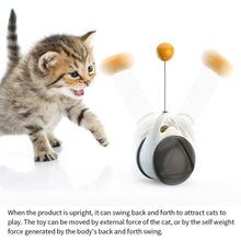Load image into Gallery viewer, Interactive Self-Standing Cat Toy