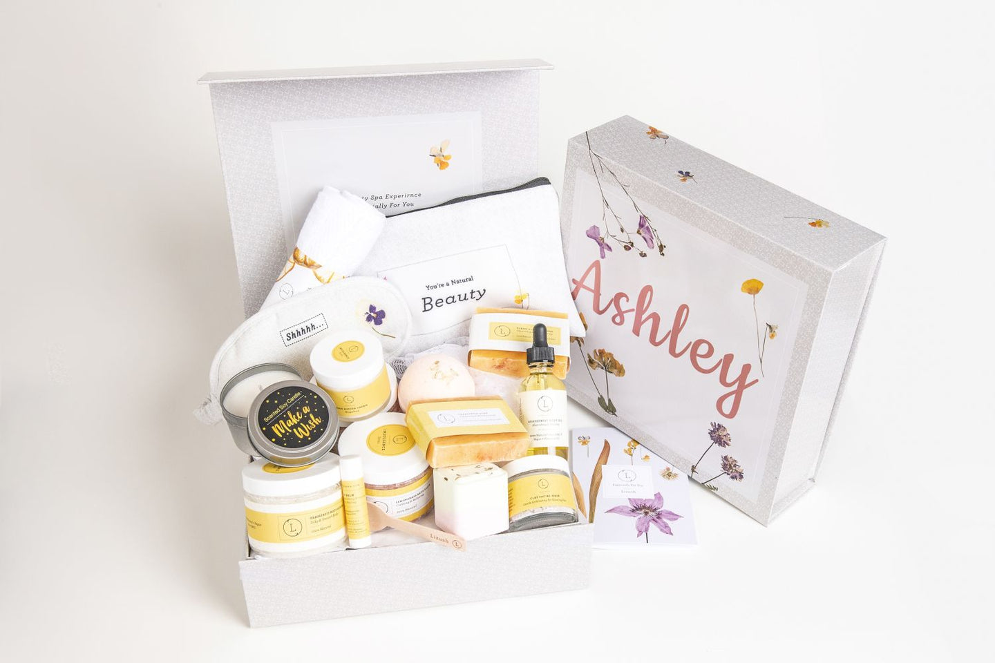 Cheer up Gift Basket - Natural Gift Basket - Sunshine | Recovery Gift set
