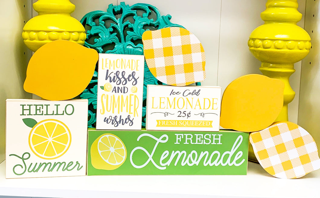 Lemon Signs and Decor