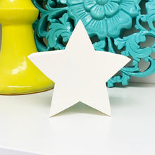 Load image into Gallery viewer, white wood star