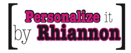 Personalize it by Rhiannon