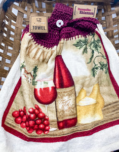 Wine hand towel