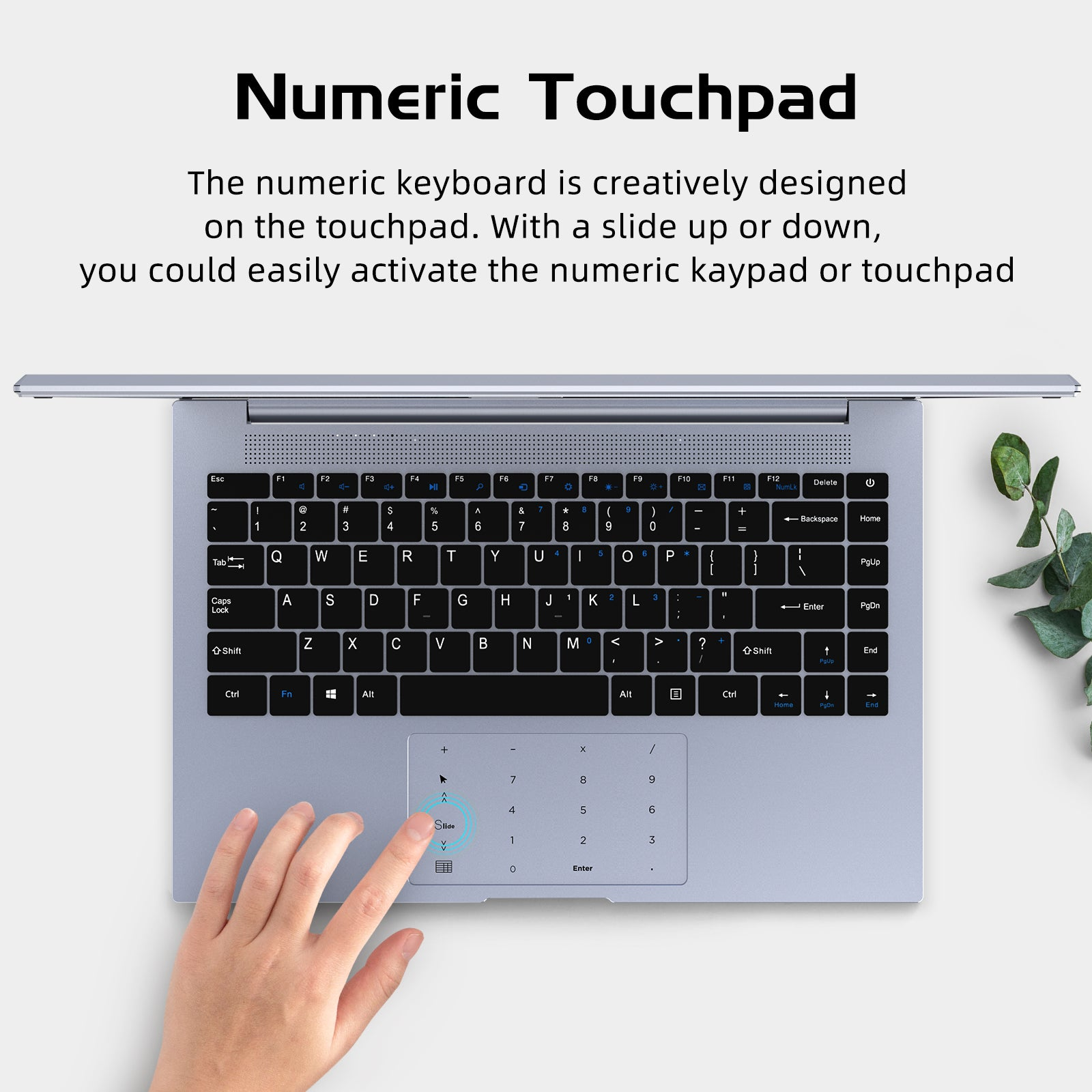 N140 Numeric touchpad