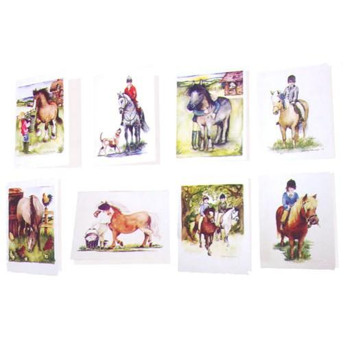 Small Equestrian Cards by Kitty Herridge-STC