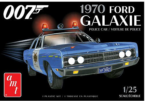 AMT James Bond 1970 Ford Galaxie Police Car