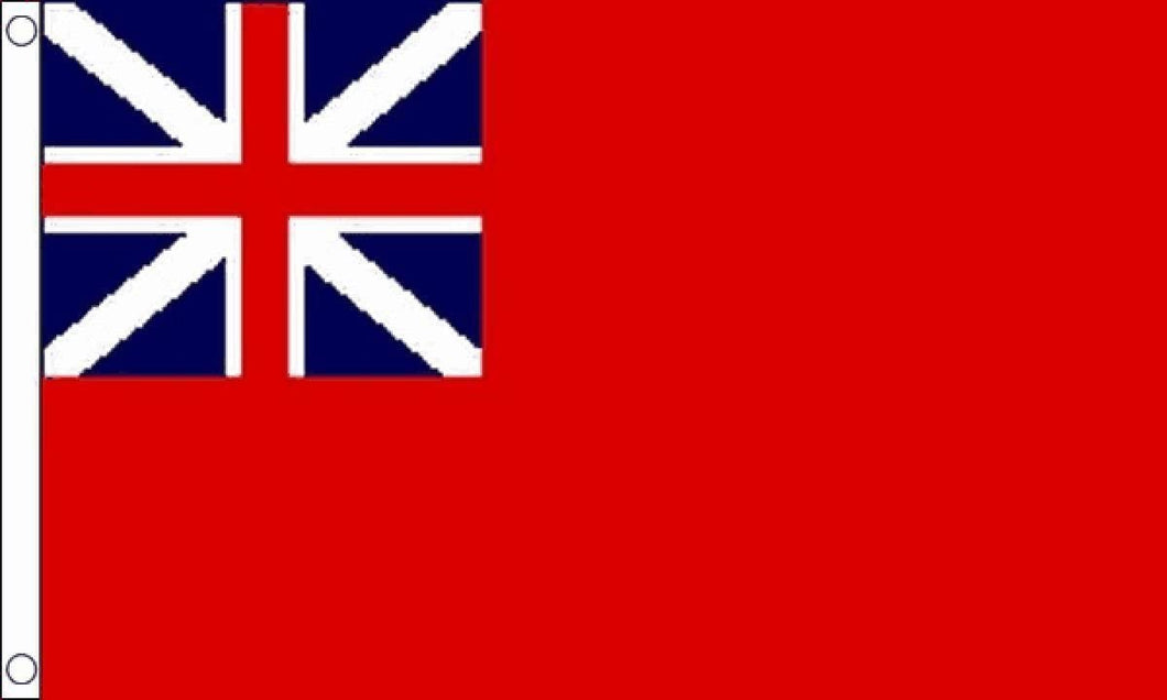 3x5ft Flag - Great Britain (Merchant Navy Colonial Red Ensign)