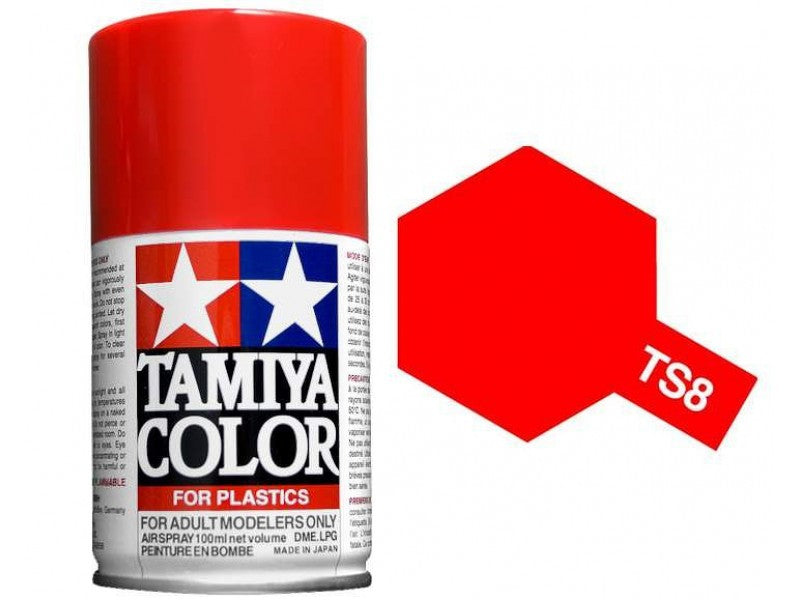 TAMIYA TS8 Gloss Italian Red