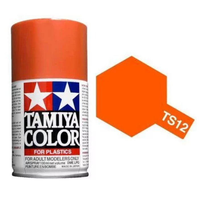 TAMIYA TS12 Acrylic Gloss Orange