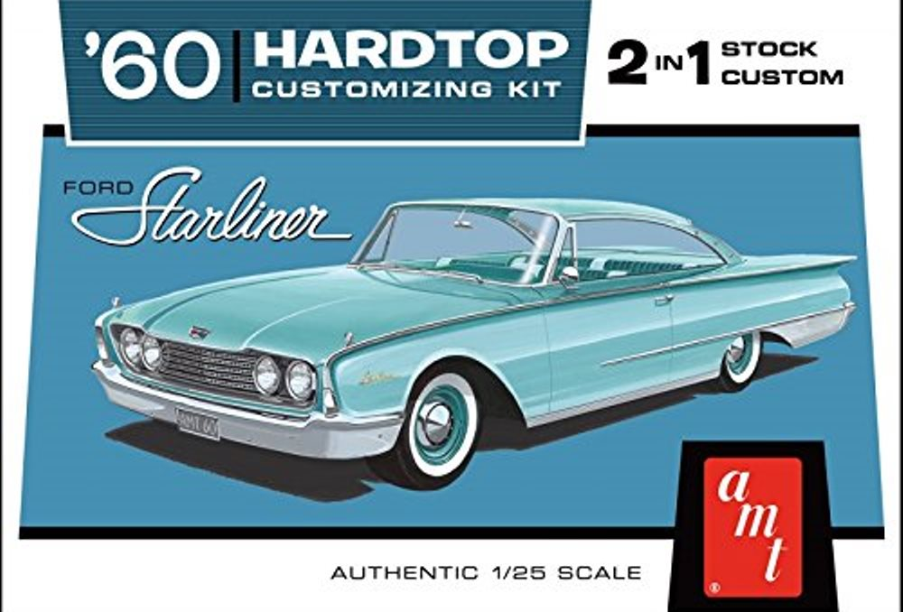 AMT '60 Ford Starliner Hardtop