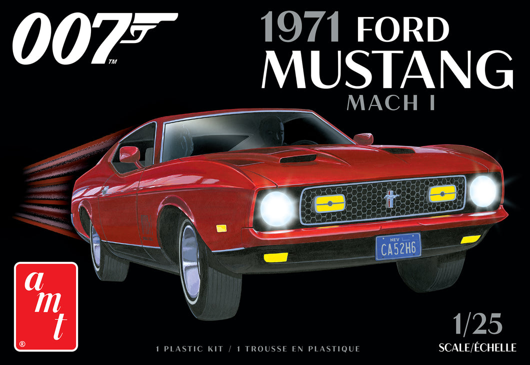 AMT 1971 Ford mustang march 1
