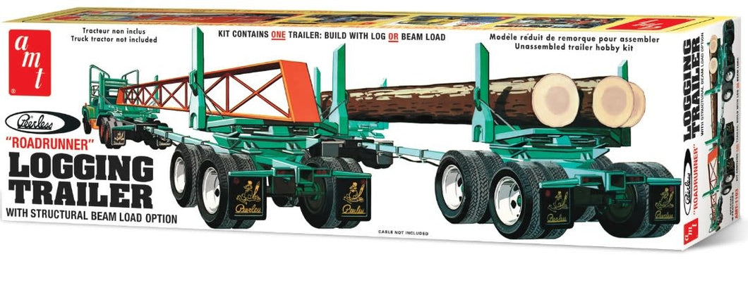 AMT Road Runner Logging Trailer