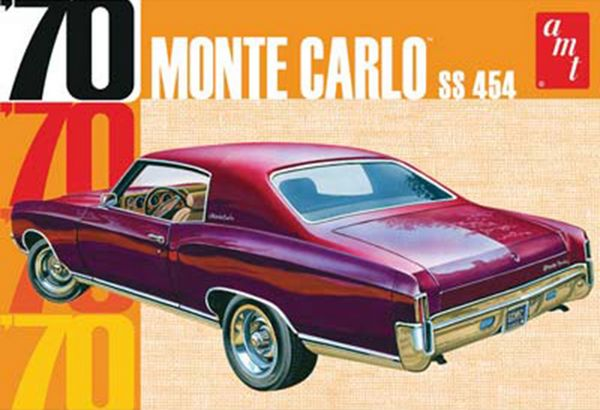 AMT 1970 Chevy Monte Carlo SS 454
