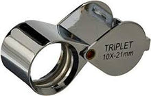 Load image into Gallery viewer, SE PROFESSIONAL 21mm 10x Triplet Jeweler's Loupe