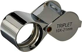 SE PROFESSIONAL 21mm 10x Triplet Jeweler's Loupe