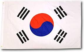 3x5ft Flag - South Korea