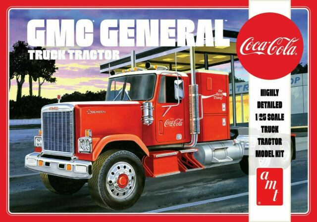 AMT Coca Cola GMC General Truck Trailer