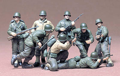 TAMIYA US infantry European theater