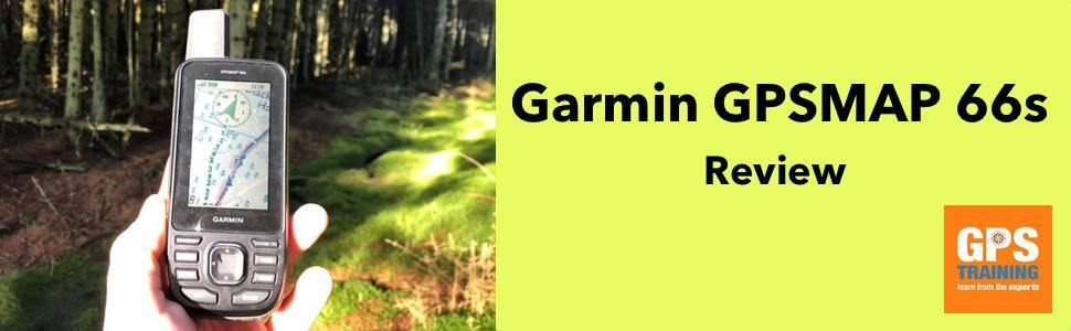Review of the Garmin GPSMAP66s - first look