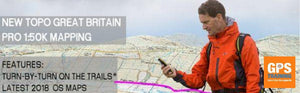 Garmin Ordnance Survey mapping now with Routeable Trail Data within the National Parks