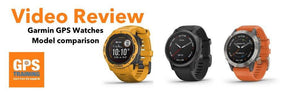 A look at the Garmin range of GPS watches - model comparison