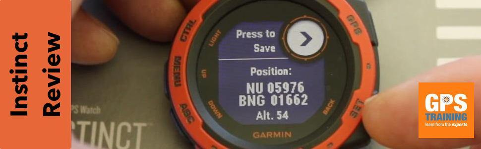 Our first look at the Garmin Instinct Watch