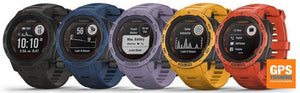 The all new Garmin Instinct Solar GPS Watch